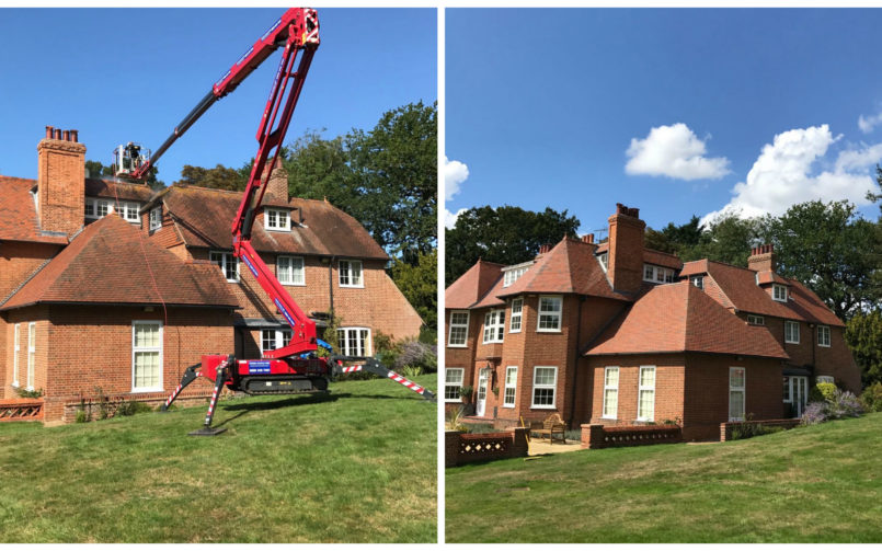 Roof Cleaning In Norfolk